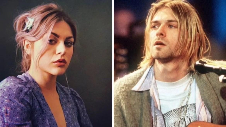 Frances Bean e Kurt Cobain
