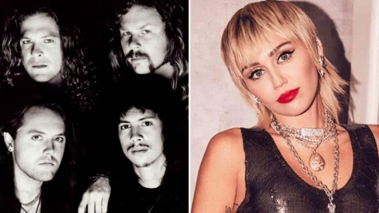 Metallica e Miley Cyrus