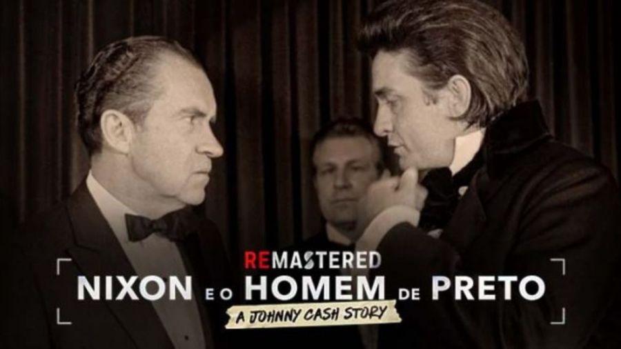 'Nixon e o Homem de Preto'
