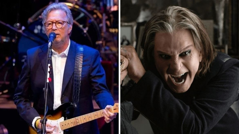 Eric Clapton e Ozzy Osbourne