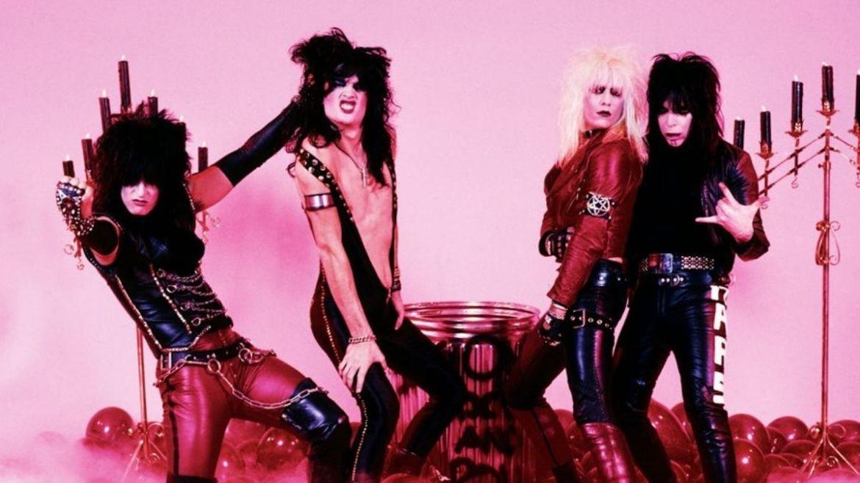 Mötley Crüe em 1982