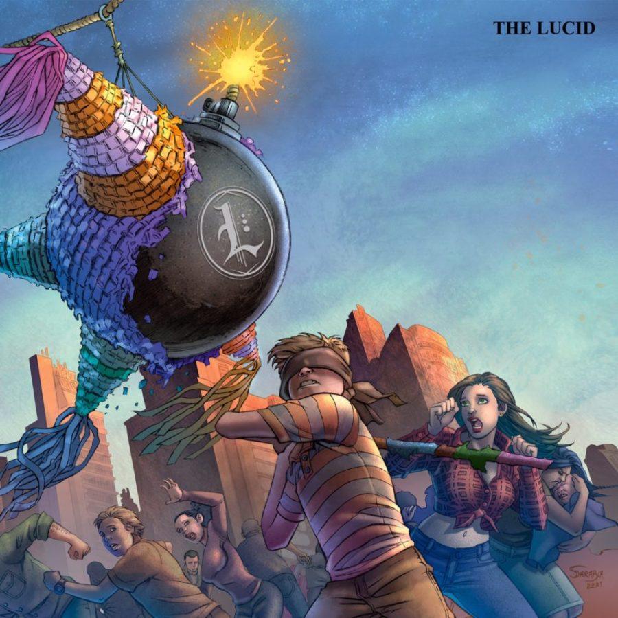 Capa de 'The Lucid', do The Lucid