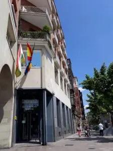 Muro del carmen Logroño