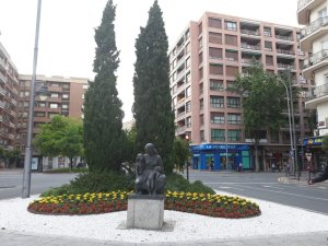 Monumento a la madre Logroño