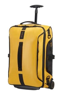 Bolsa de viaje con ruedas 55cm Amarillo PARDIVER LIGHT en www.bolsosvandi.com