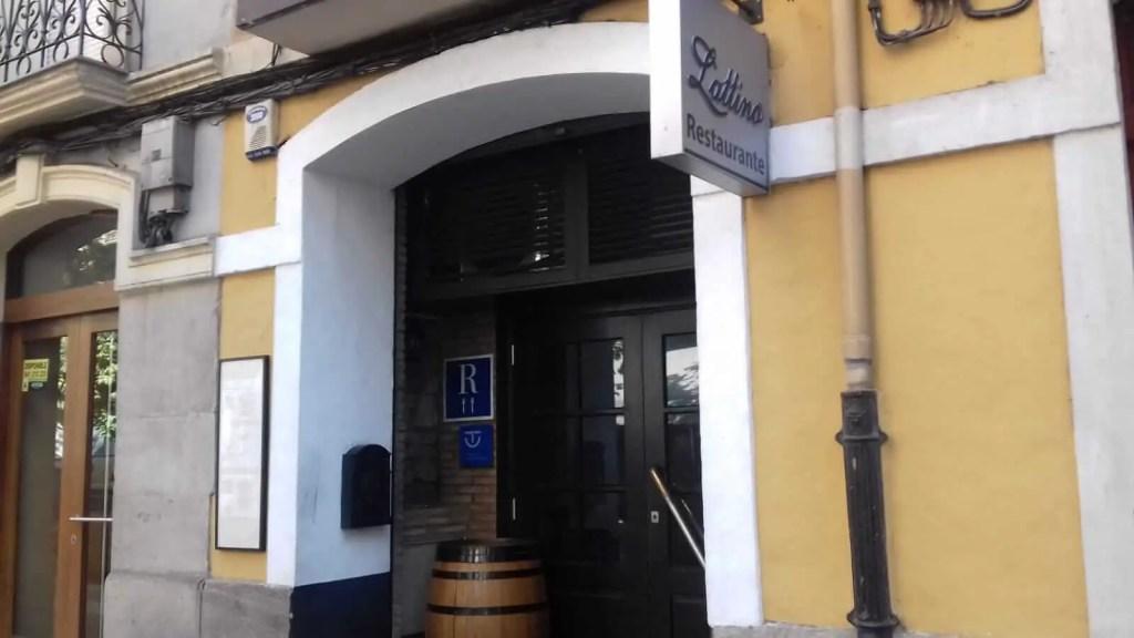 restaurante italiano latino logroño
