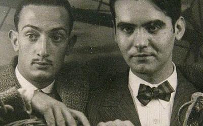 Federico Garcia Lorca y Salvador Dali