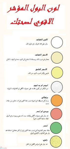 ماذا يقول لون البول عن صحتك ؟ 4