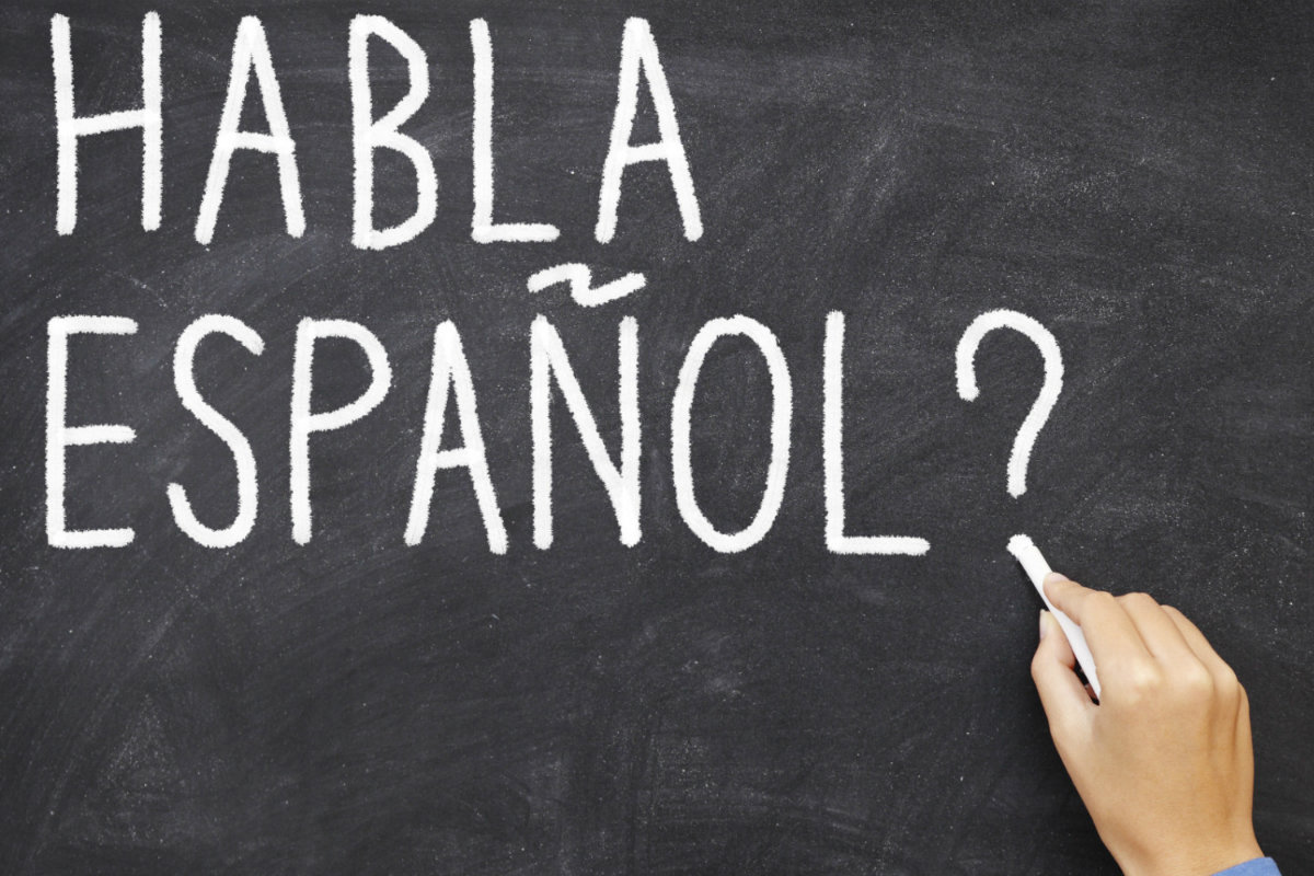 De Talen Die Gesproken Worden In Spanje