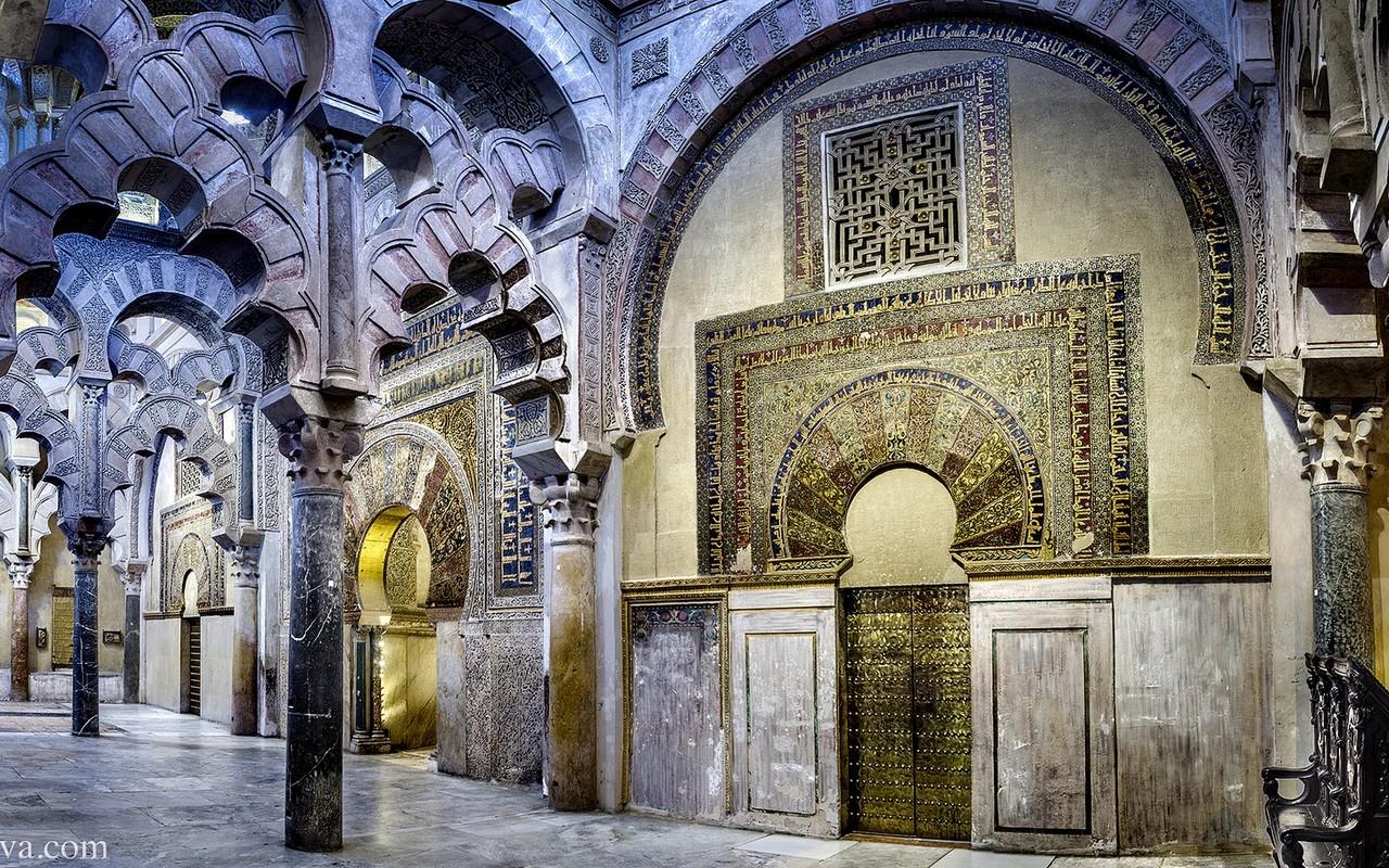 Córdoba – Mezquita (mirab) – Foto Domingo Leiva