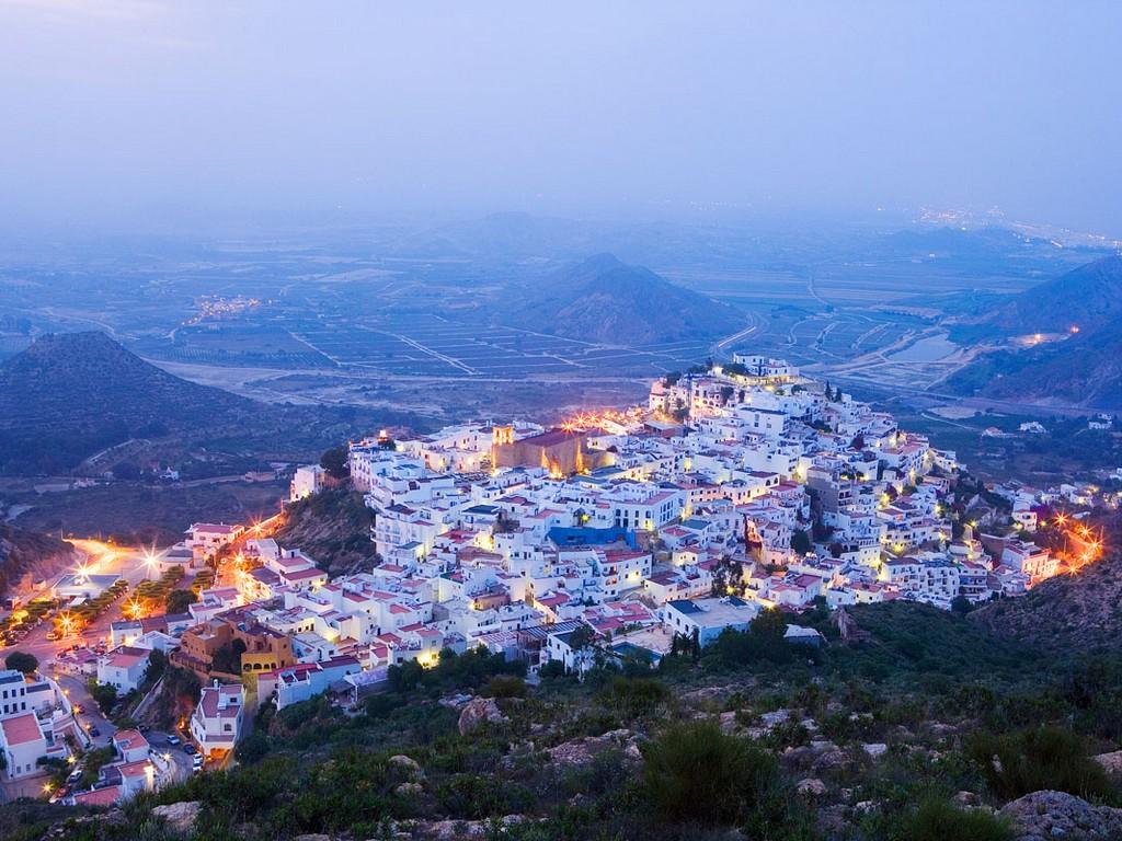Dorpen op heuvels – Mojacar (Almería)