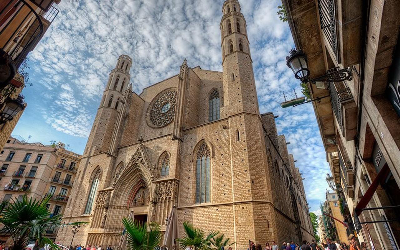 Santa María Del Mar, Barcelona – Foto Marc