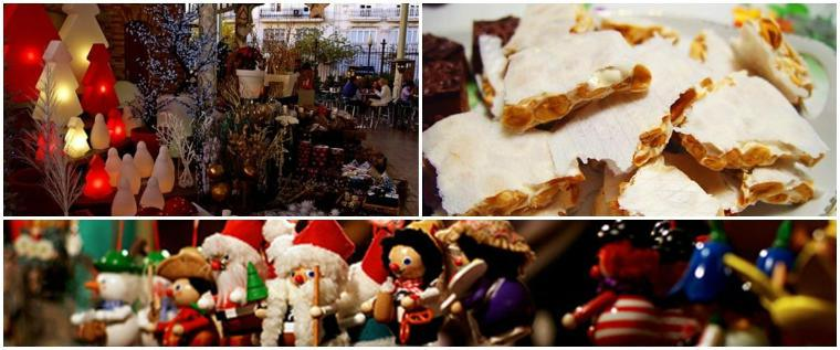 Kerstmarkt in Valencia