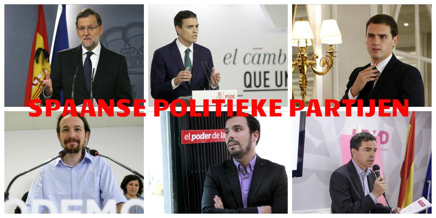 De Grootste Spaanse Politieke Partijen Nader Bekeken