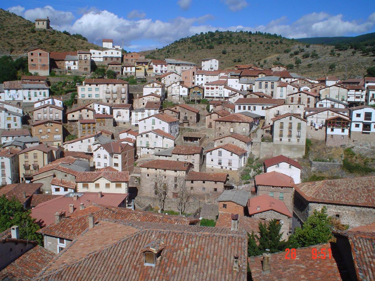 Ondergelopen dorp