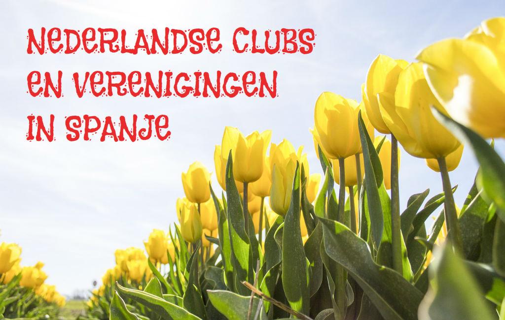 Overzicht Van Nederlandse Clubs En Verenigingen In Spanje