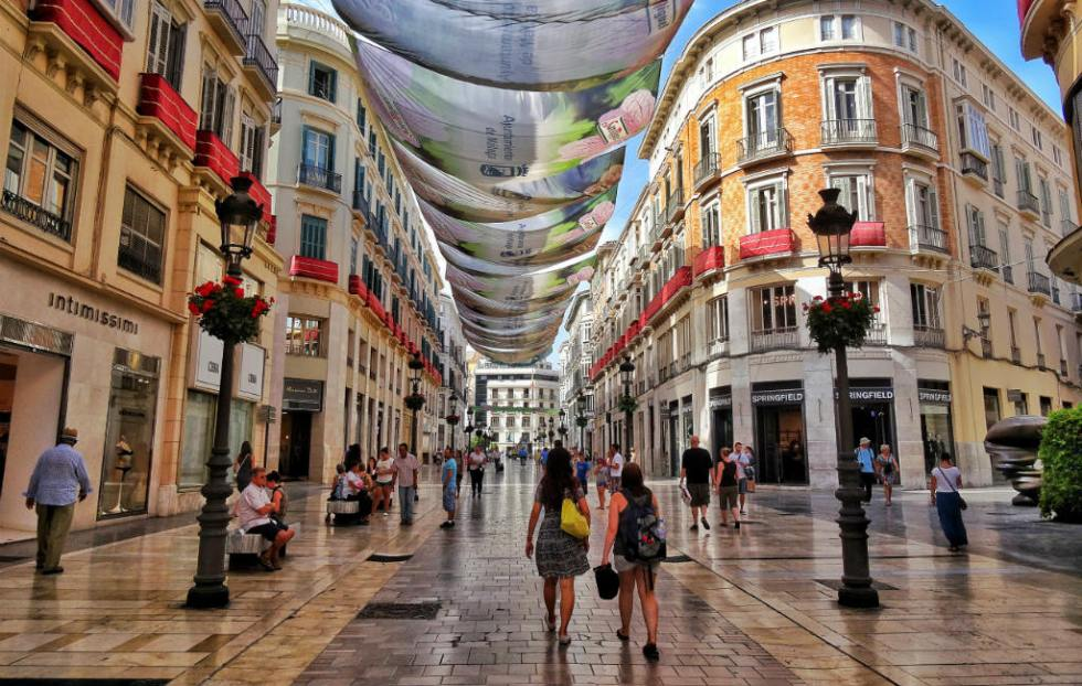 Ontdek De Beste Winkelgebieden Van Málaga