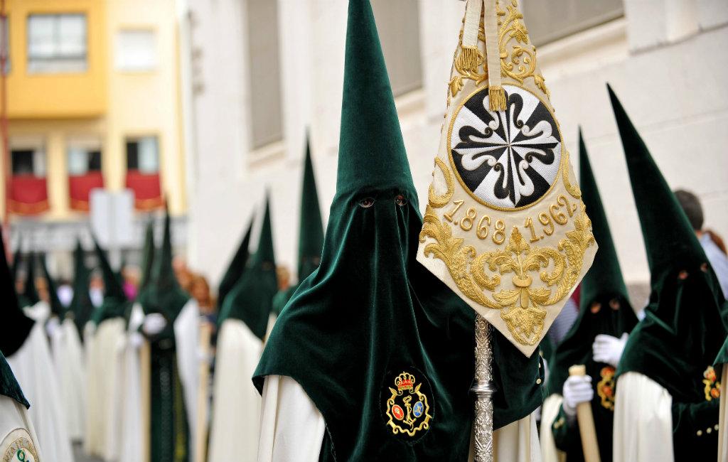 Uitleg Van De Semana Santa Feesten In Spanje