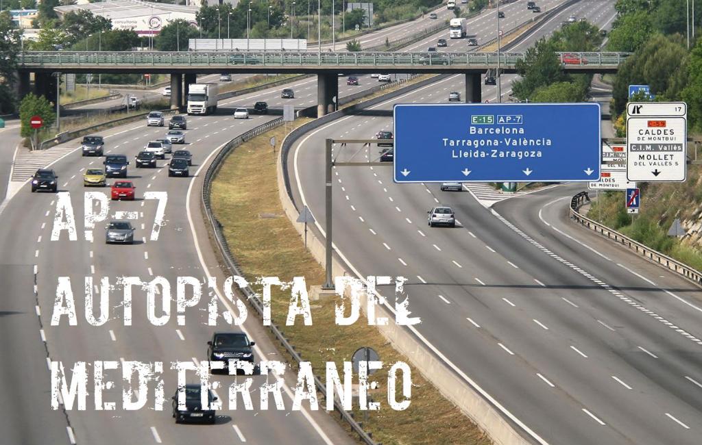 Leer De Spaanse Snelweg AP-7 Of Autopista Del Mediterráneo Kennen