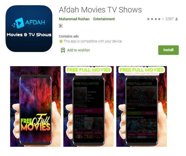 Afdah Movies TV Shows