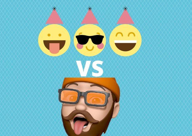 Emojis vs memojis