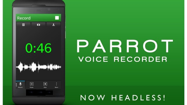 Parrot Voice Recorder