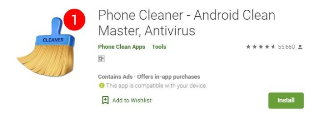 Phone Cleaner - Android Clean Master, Antivirus