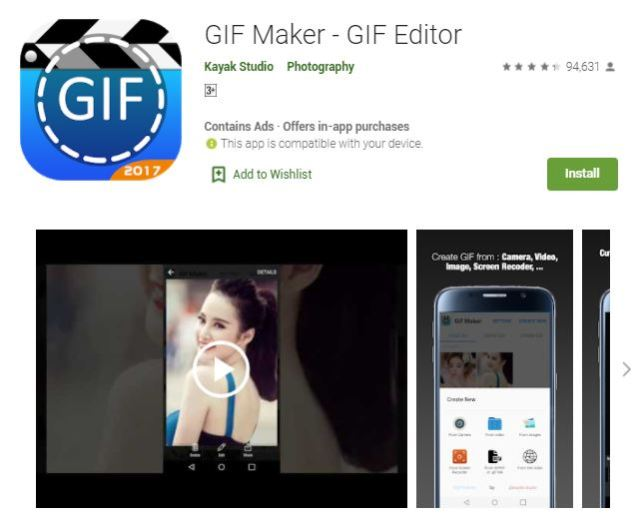 GIF Maker - GIF Editor