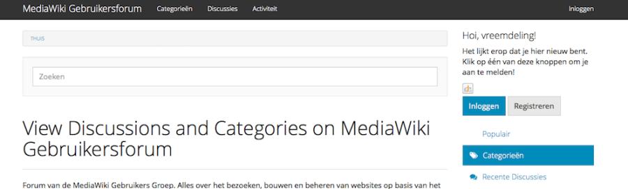 mediawik-gebruikers-forum
