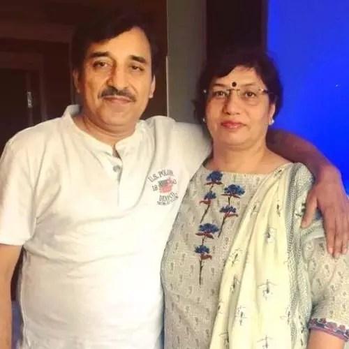 Harshita Gaur Parents