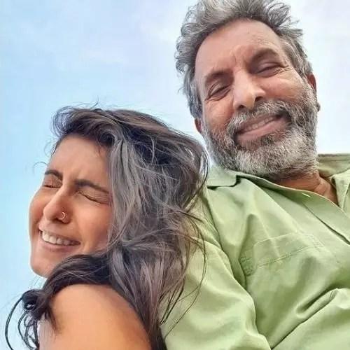 Samyukta Hegde with Father