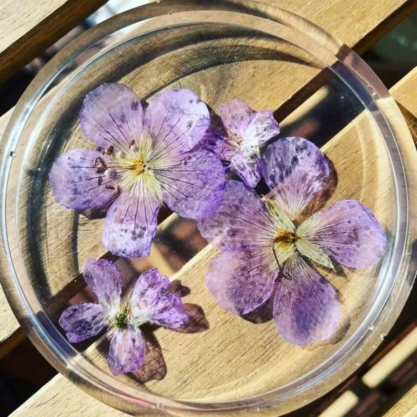 epoxy blommor