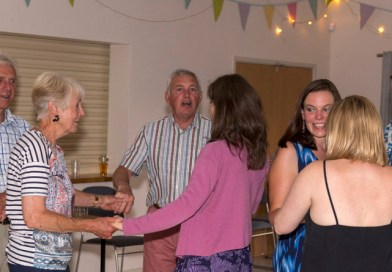 Barn Dance raised over £400 for the Play Area