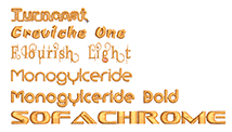 Embroidery Fonts