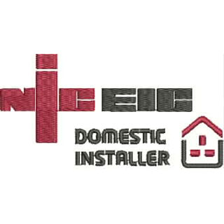 NIC EIC DOMESTIC INSTALLER embroidery design