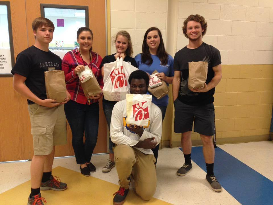 Chickfila Lunch Pic