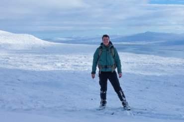 Op avontuur in winters Schotland