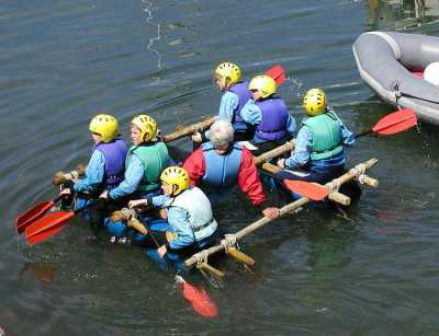 Raft Building - image  on https://www.wild-survivor.co.uk