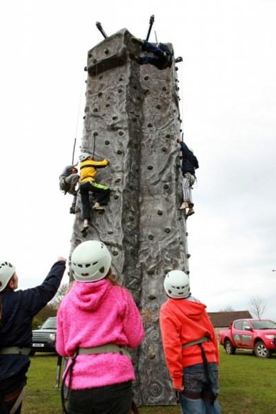 Climbing Wall - image  on https://www.wild-survivor.co.uk