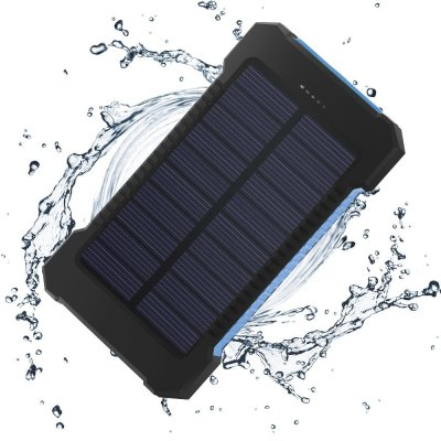 Waterproof Solar Power Bank with Compass - image  on https://www.wild-survivor.co.uk