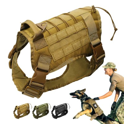 Tactical Dog's Training Vest Harness - image  on https://www.wild-survivor.co.uk
