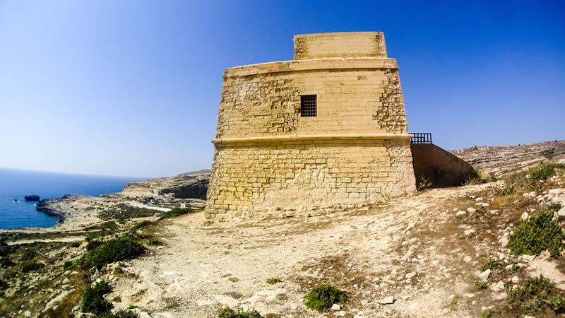 Gozo Malta uitkijktoren