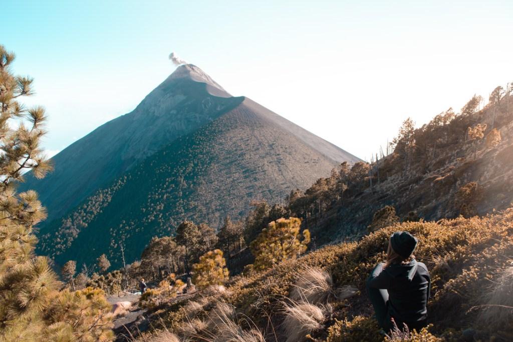 Guatemala Blick auf den Fuego