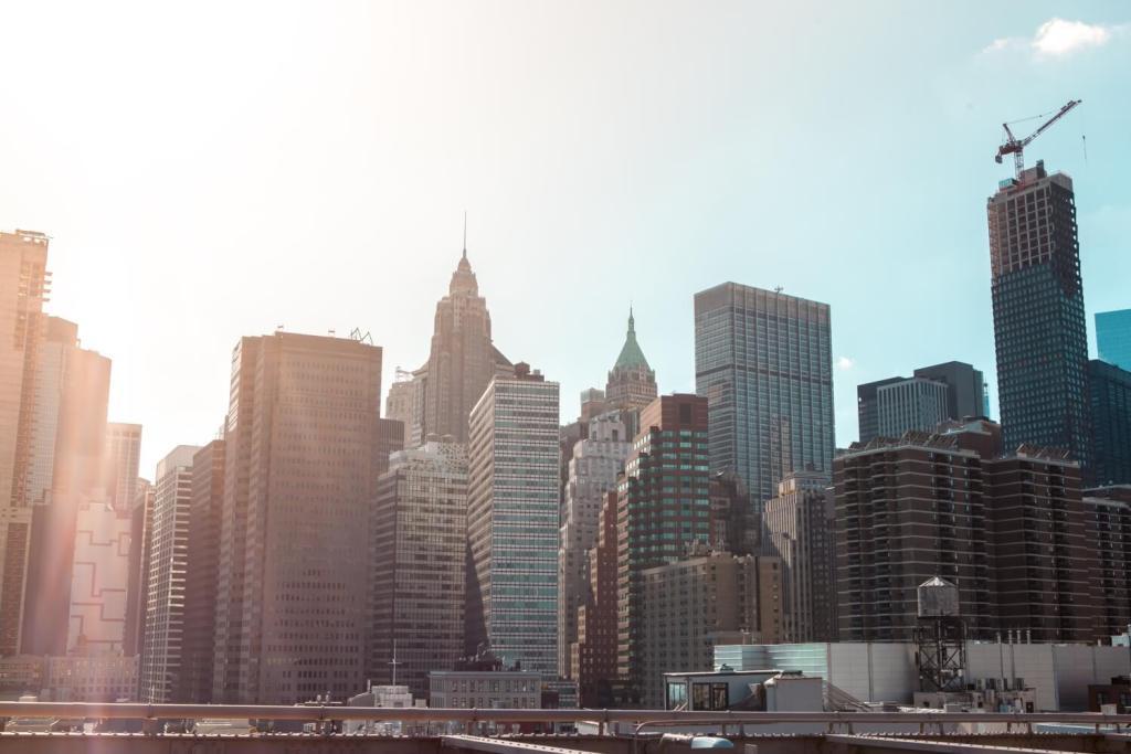 Aussicht von Brooklyn Bridge