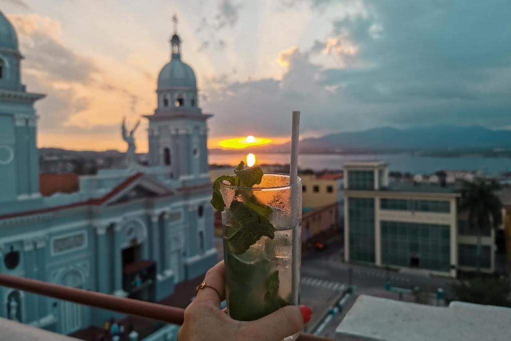 Kuba Mojito Sonnenuntergang