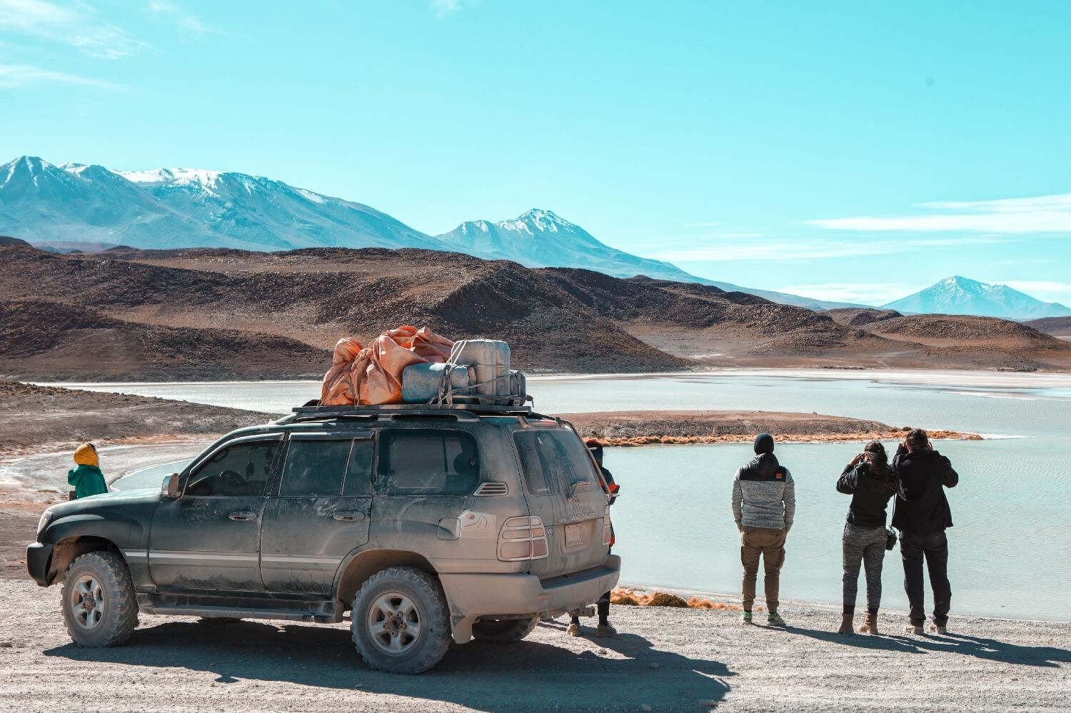 Jeep in Bolivien