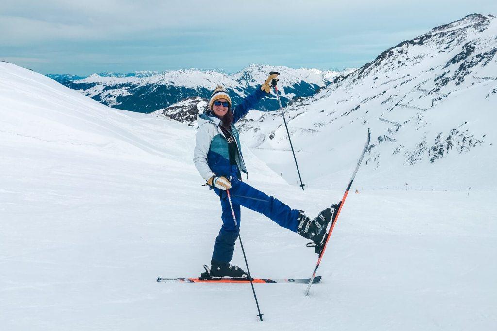 Heimaturlaub Skifahren Auswandern