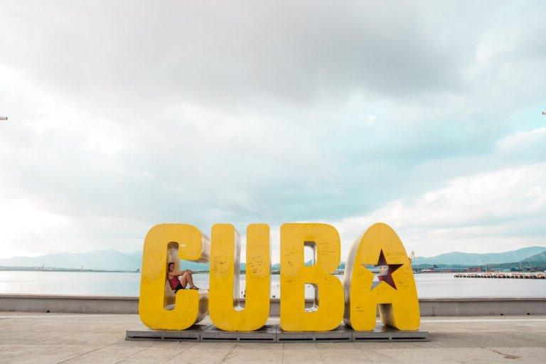 Kuba Buchstaben Auswandern