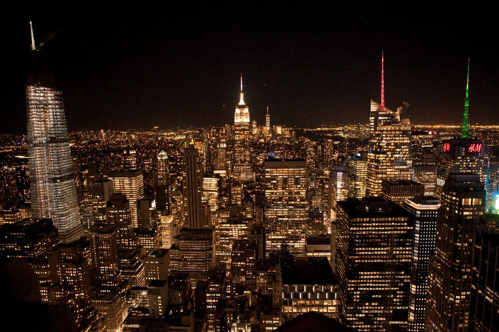 Top of the Rock Nacht