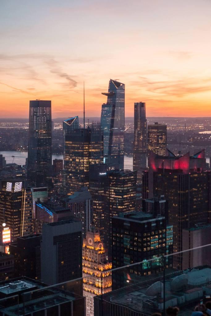 Aussicht Rockefeller Center
